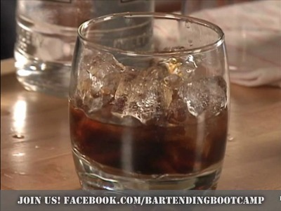 How to make a White Russian Cocktail - Drink recipes from Bartending Bootcamp