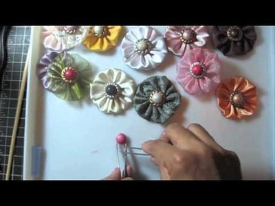 How to make center of the flower