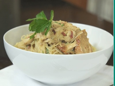 How to make chicken carbonara