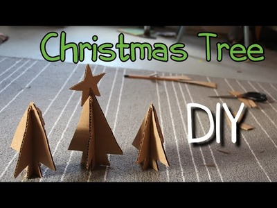 How To Make Homemade Toy-Christmas Tree-DIY