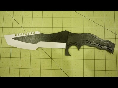 How to make Paper CS:GO Huntsman Knife