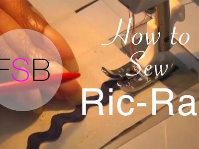 How to Sew Ric Rac