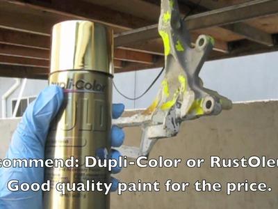 How to Spray Paint (Basics)