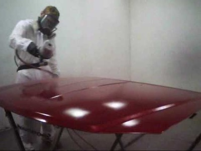 How to Spray Waterborne Paint
