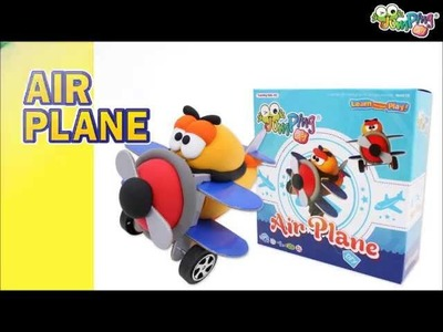 Jumping Clay Tutorial - How to make an Aeroplane