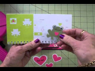 """Kiss Me!"" Joy Fold Card"