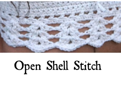 Open Shell Stitch Tutorial