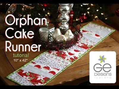 Orphan Cake Runner tutorial by Gudrun Erla from GE Designs