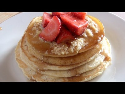 PANCAKES with MAPLE BUTTER - CLASSICS RECIPE