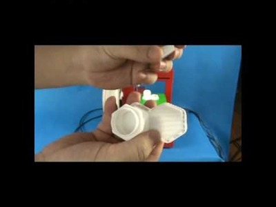Printing 2 bottles by UP! 3D Printer(www.PP3DP.com)