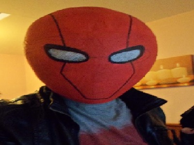 Red Hood Mask Tutorial Cosplay How to Make Red Hoods Helmet