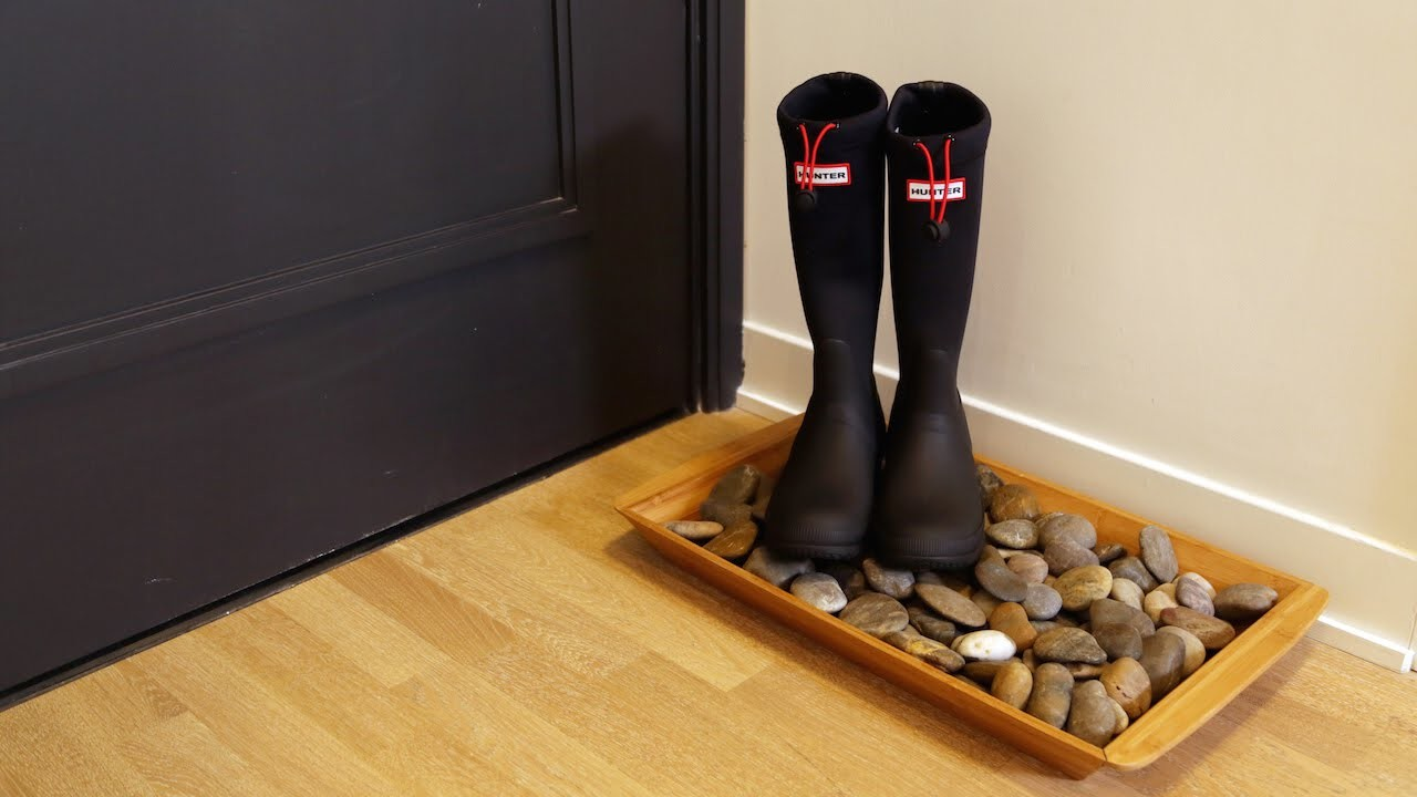 Suite Living | DIY Winter Boot Tray