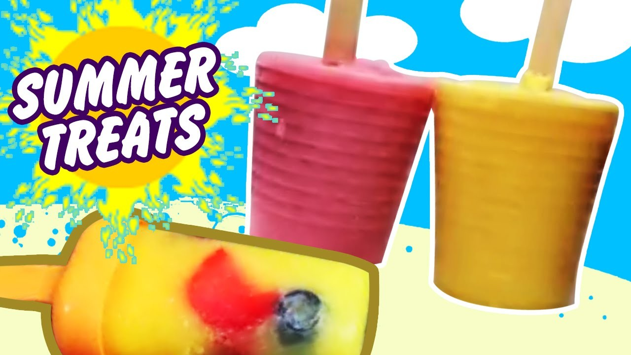 Summer Treats : Healthy Homemade Popsicles | Easy DIY Popsicle Recipe | Fruit Popsicle
