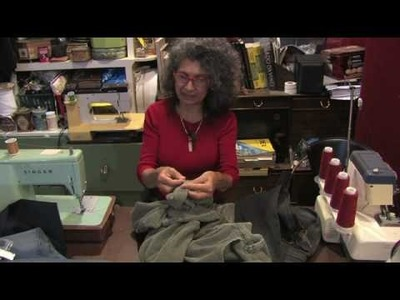 Tailoring Clothes for Men & Women : How to Sew a Hem on Pants