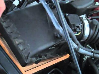 Tutorial:  Change air filter on a 2006 Subaru WRX STi