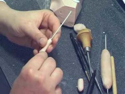 Vididoll sculpting video foot part 1