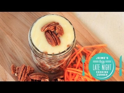 4-Minute Carrot Cake in A Jar Recipe