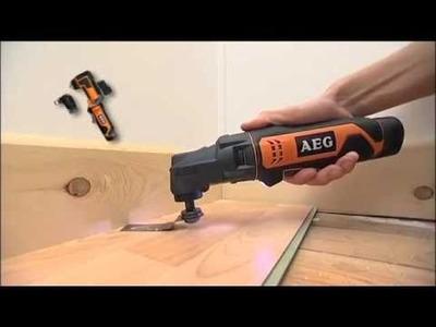 AEG Power Tools - 12V Li-Ion Multi-Function Multi-Tool