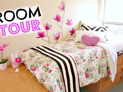 Back to School Dorm Room Tour & Makeover!