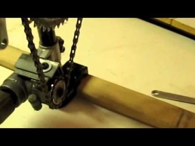 Bicycle propellor drive