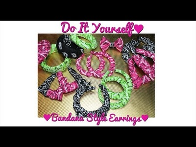 D.I.Y Fashion Earrings♥