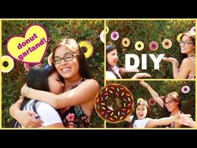 DIY Donut Garland!