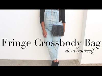 {DIY} Fringe Crossbody Bag