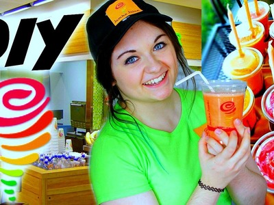 DIY JAMBA JUICE SMOOTHIES: Razzmatazz, Mango-a-gogo, & More! #FooDIY