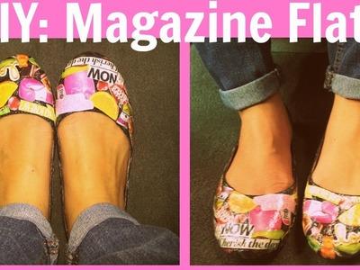 DIY: Magazine Flats