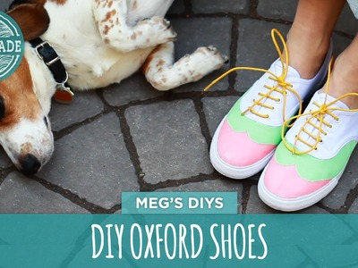 DIY Oxford Shoes - White Shoes Challenge Week - HGTV Handmade