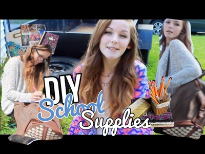 DIY School Supplies!♡