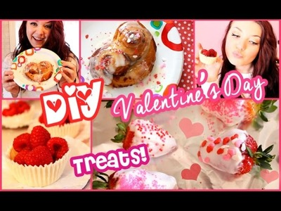 DIY Valentines Day Treats! ❤ PINTEREST Inspired
