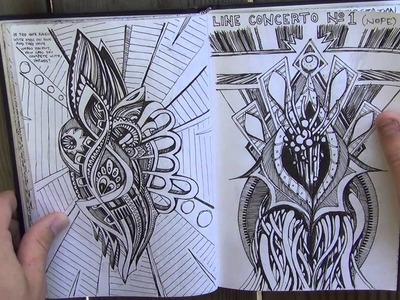 Flipping Through My Doodle Book