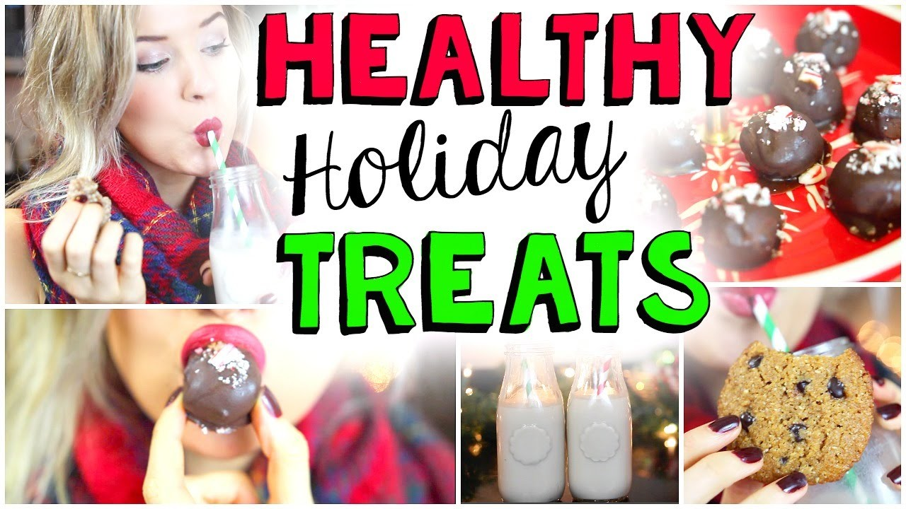 HEALTHY Holiday Recipes: Cookies, Chocolate & MORE!