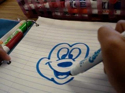 How To Draw Mickey Mouse, By Kaithlyn Abulencia [: