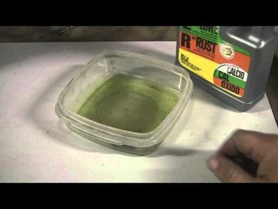 How to Easily Remove Rust with a Household Product. Great for Nuts and Bolts! CLR. .