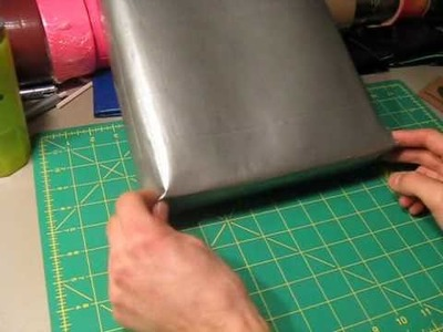 How to make a Duct tape backpack Part 2