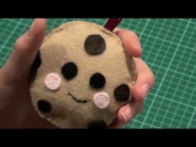 How to make a simple Cookie Plushie - for beginners