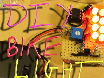 HowTo: Simple DIY Flashing Tail Light