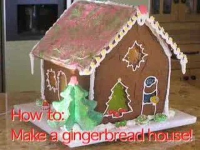 Make a Gingerbread House!