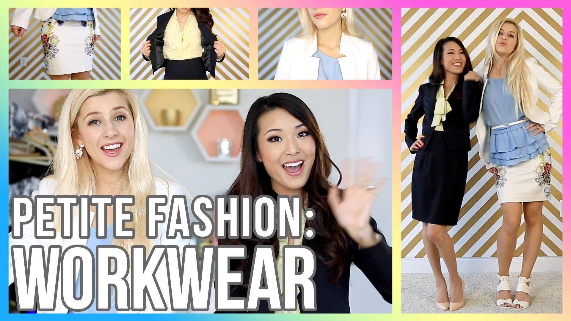 PETITE FASHION TIPS: How to Dress for an Interview.Office