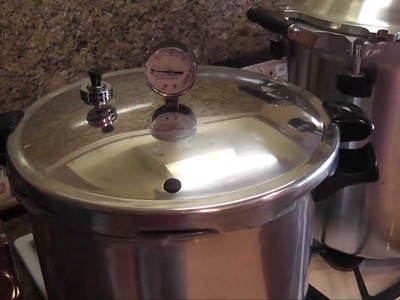 Pressure Canners 101 - A Canner is a Canner.  NOT TRUE
