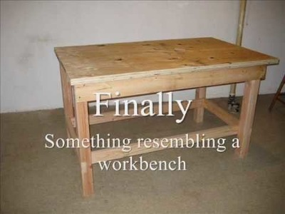 Re:  How to build a workbench