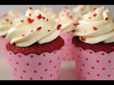 Red Velvet Cupcakes Recipe Demonstration - Joyofbaking.com