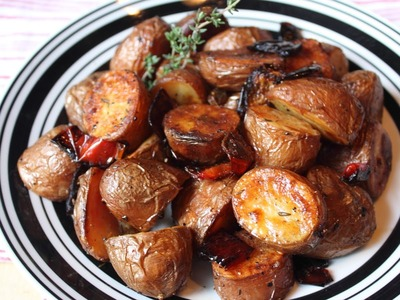 Roasted Red Potatoes - Simple Yet Awesome Roasted Potato Side Dish