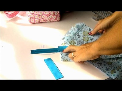 Sew a Carry-all Bag. Part 2, the bottom, top and ends