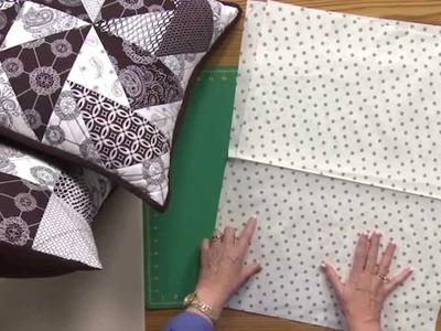 Sew Easy: Lapback Pillow Finishing