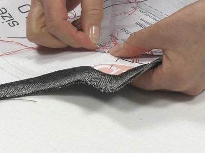 Sewing - Make a Dress - Tailors Tacks from Angela Kane - Part 2
