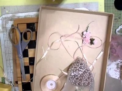 Shabbychic Vintage Doily Pin Cushion Tutorial - jennings644