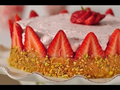 Strawberry Charlotte Recipe Demonstration - Joyofbaking.com